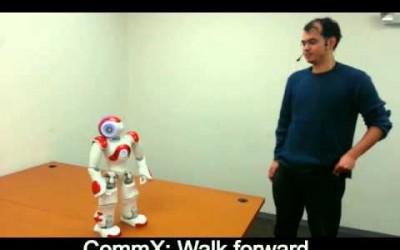 Robot sterowany głosem