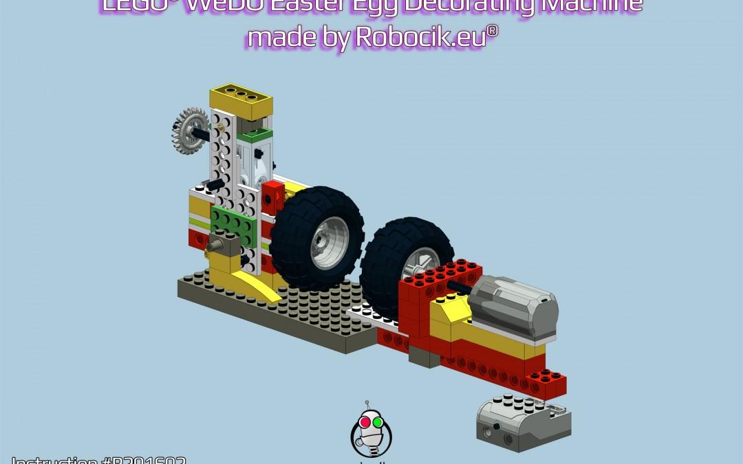 LEGO WeDO Maszyna do dekorowania pisanek