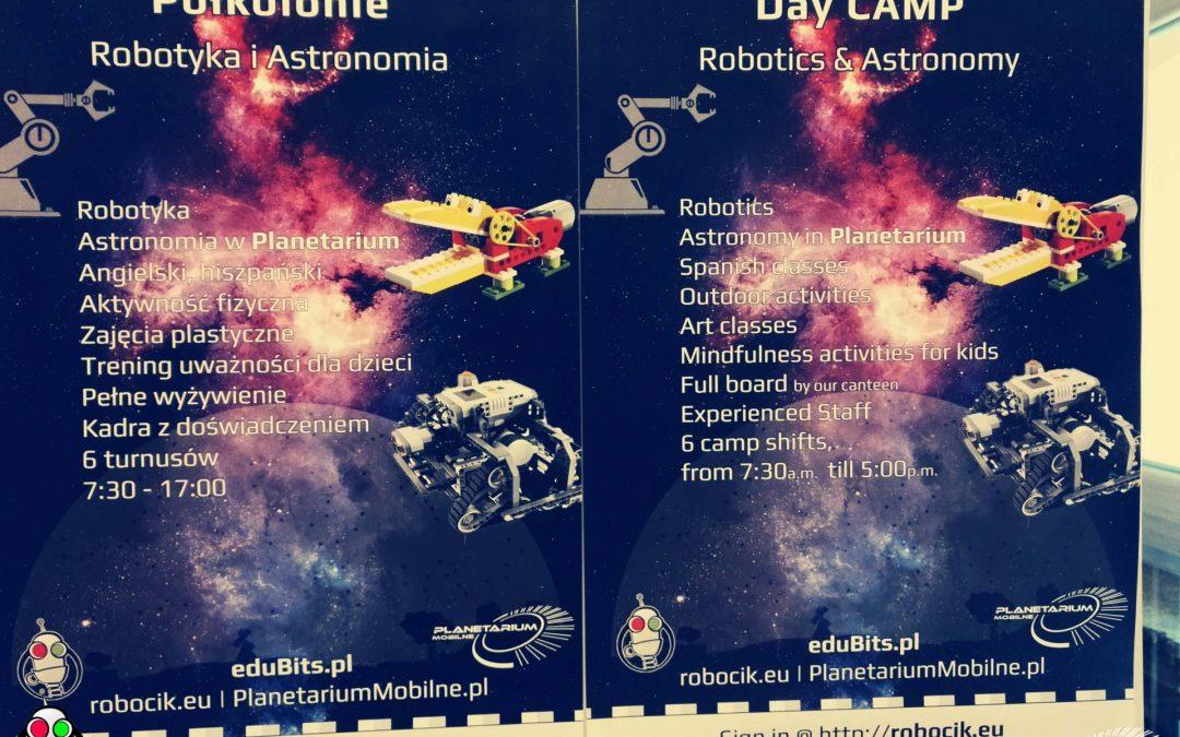 """Półkolonie """"ROBOTYKA + ASTRONOMIA"""" 1.1"""