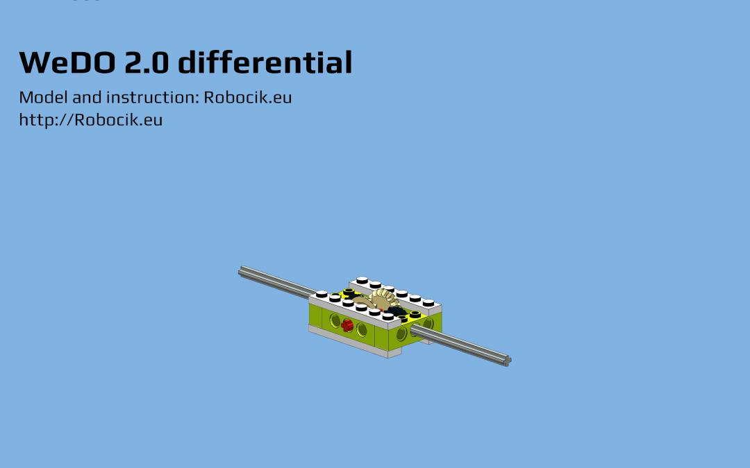 LEGO WeDO 2.0 differential