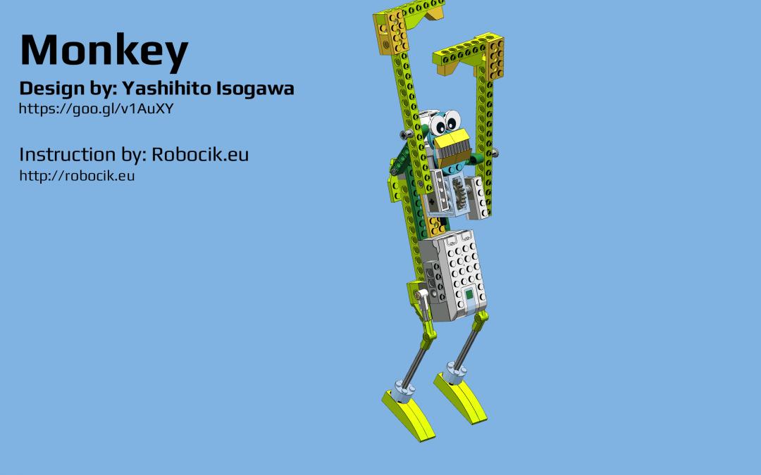 LEGO WeDO 2.0 Monkey by Yoshihito Isogawa