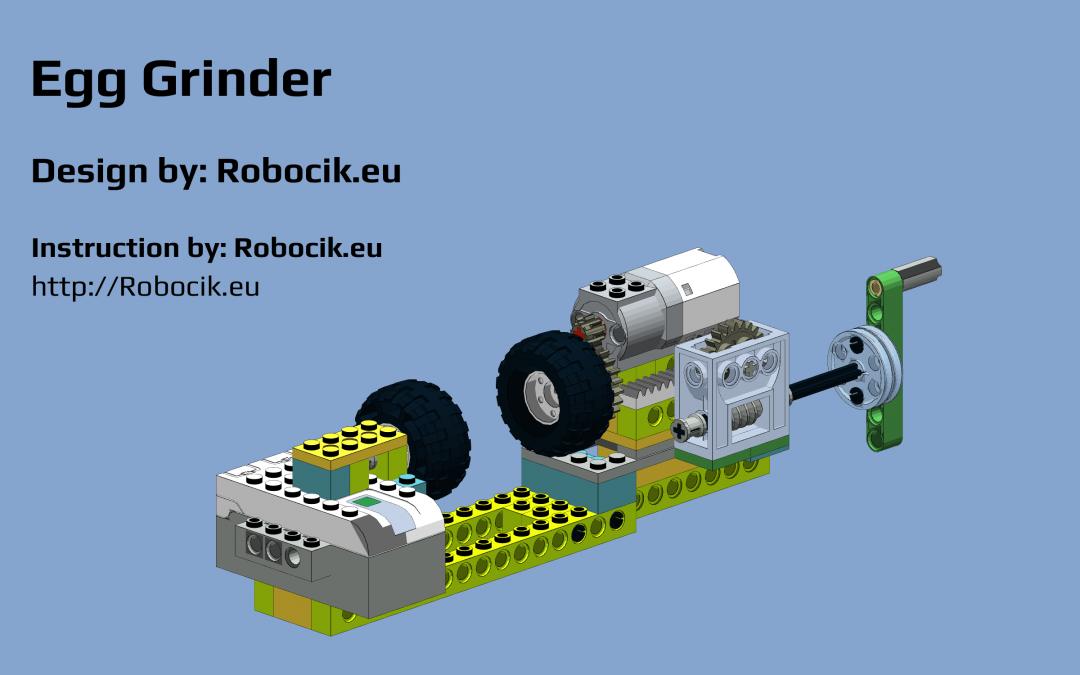 LEGO WeDO 2.0 Egg Grinder
